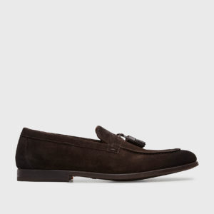 SCARPA SUEDE LOAFERS DOUCAL'S P/E 21